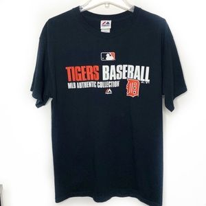Majestic MLB Detroit Tigers Authentic Tee Large